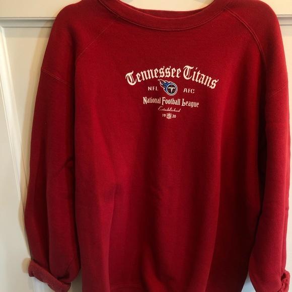lowest price 7525f f87c1 Vintage Tennessee Titans Sweatshirt